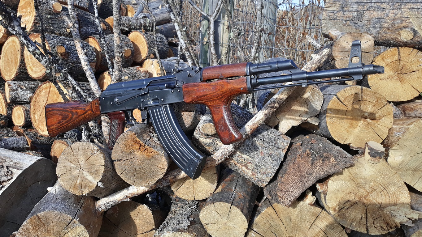 Custom built Romanian MD.63 AKM 7.62x39 AK for sale